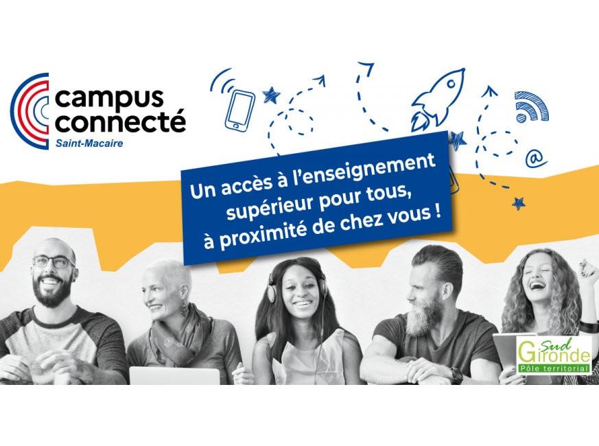 Campus connecté à Saint-Macaire